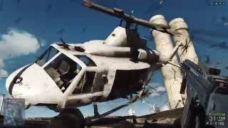 Battlefield 4 Gameplay in 4K Campaign Ultra settings MSAA 2x 2160p