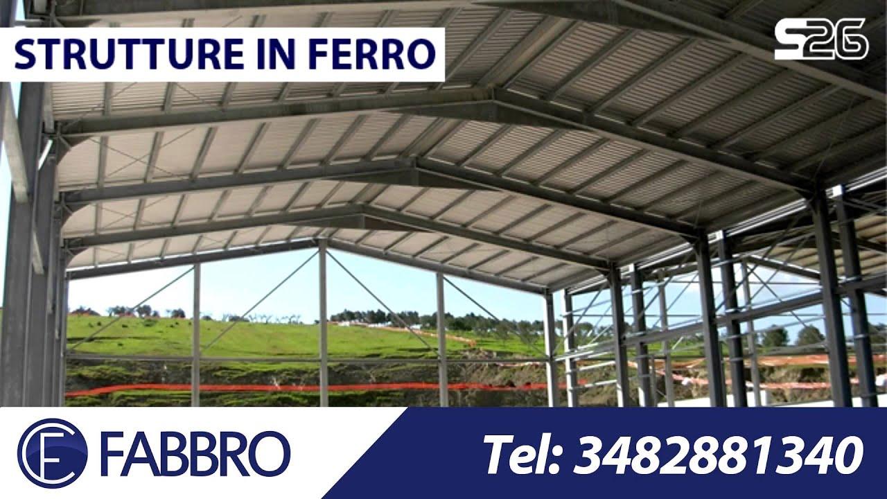 Arredamenti ferro acciaio gazebi tettoie carpenteria for Come costruire un capannone moderno