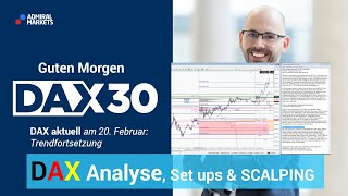 DAX aktuell: Analyse, Trading-Ideen & Scalping | DAX 30 | CFD Trading | DAX Analyse | 20.02.2020