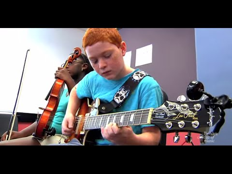 Summer Sessions at Berklee for Middle School Students