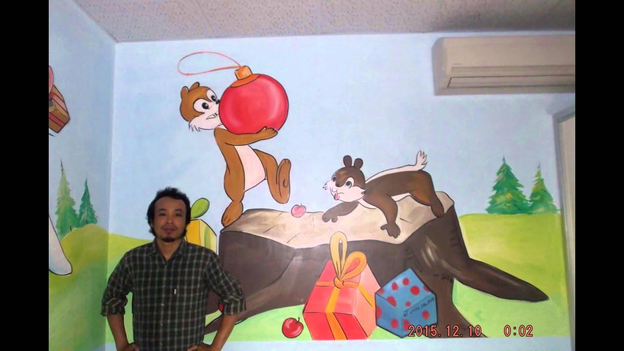 vẽ tranh tường phòng bé tuyệt đẹp_lhhs:09.76.476.894