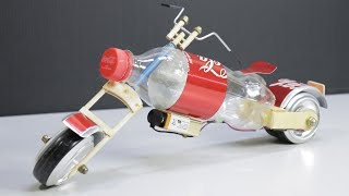 Video How to make a toy Motorcycle with Coca-Cola - Amazing DIY Coca-Cola Motorcycle download MP3, 3GP, MP4, WEBM, AVI, FLV Agustus 2018