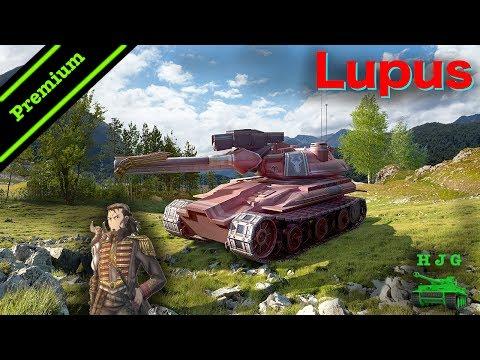 World of Tanks BLITZ - Lupus - Valkyria Chronicles