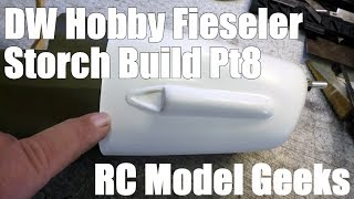 DW Hobby Fieseler Fi 156 Storch Build Pt8 RC Model Geeks