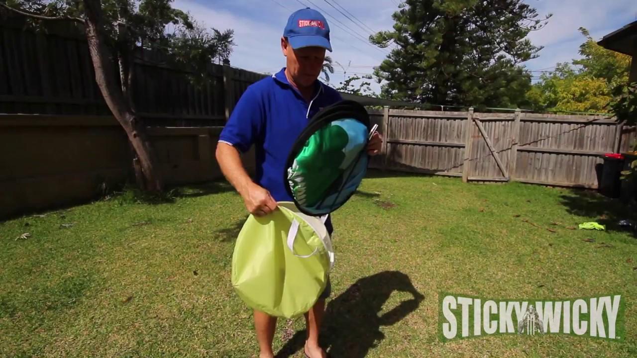 Sticky Wicky Keeper Set Cricket Portable