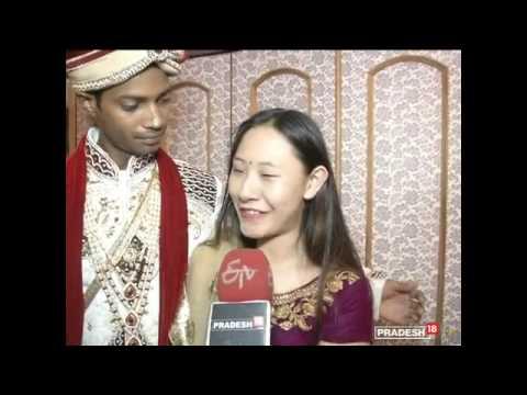 Facebook love: Girl from Hong Kong marries Bikaner youth