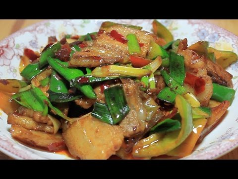 Twice Cooked Pork 回锅肉