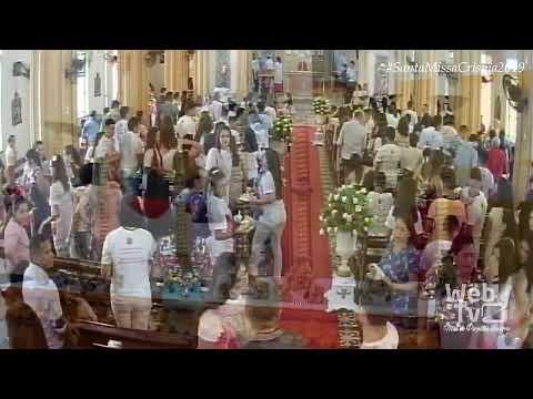 Bom Dia! Assista à Santa Missa Da Crisma Turma 2018/2019, Diretamente Da Igreja Matriz De Reriutaba.