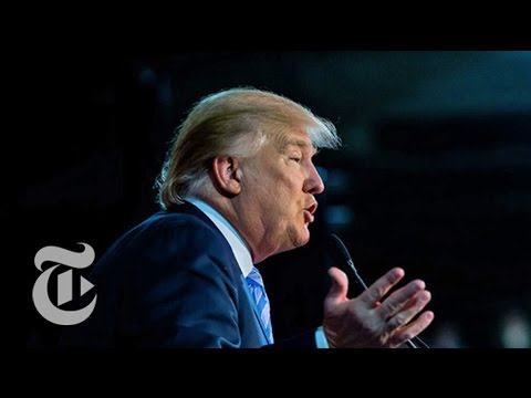 360° Video: Donald Trump Rally | Election 2016 | The New York Times