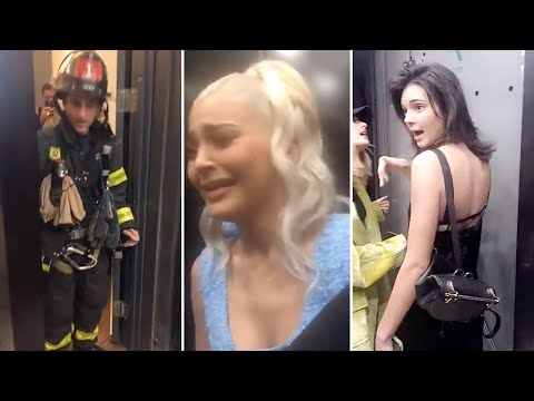 Kylie Jenner Gets Trapped in Elevator With Kendall Jenner | Full Video