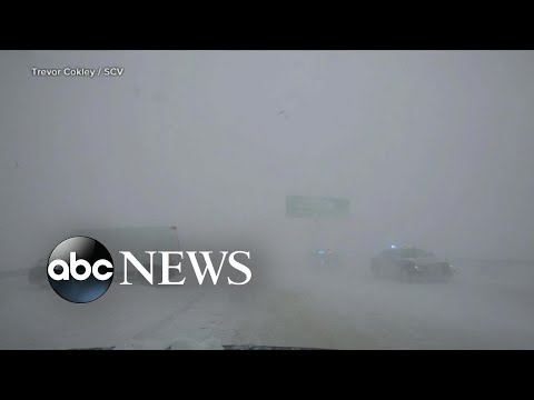 Giant storm sweeps across the country