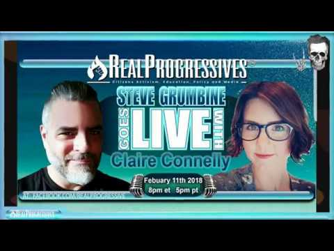 Claire Connelly of Renegade Inc joins Real Progressives to discuss Basic Income and a Job Guarantee