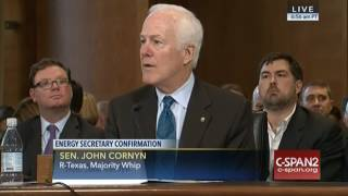 Sen. Cornyn: Gov. Perry Will Spawn Next Great Era Of American Energy