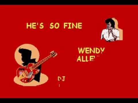 DJ 583 WENDY ALLEYNE   HE'S SO FINE KARAOKE