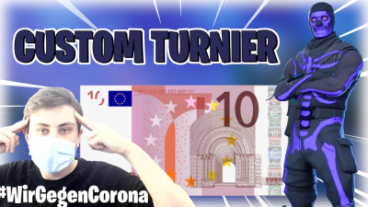 🔴CUSTOM GAMES 🏆 20€ DUO TURNIER 🥇 Clan sucht dich😲  /Fortnite Facecam Live