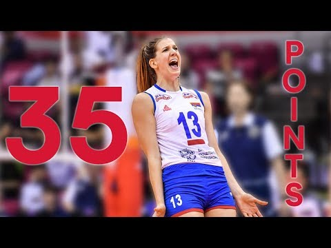 Ana Bjelica drops 35 PTS on an unexpecting Dutch squad | Women's Volleyball World Cup 2019