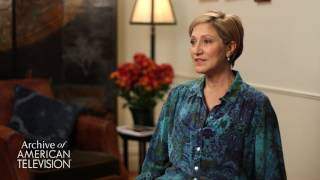 Edie Falco on advice to an aspiring actor - EMMYTVLEGENDS.ORG