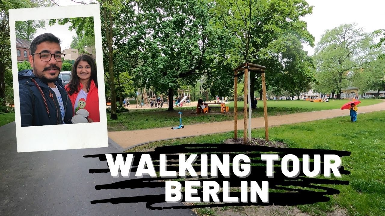 Download Walking tour near our house in BERLIN, Germany | Indians in Germany