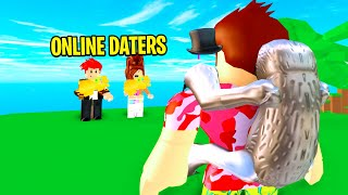 I Challenged ONLINE DATERS To ADMIN BATTLE To Stop Dating.. (Roblox)