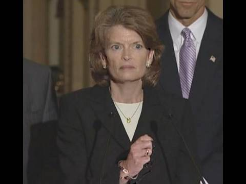 Murkowski Says Public Concerned about a Tsunami of Government Intrusion