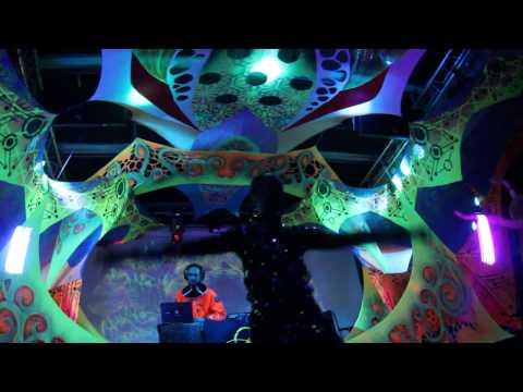 Max Smirnyi light show - Big Cosmic Trip | Microcosmos party 14/04/2017
