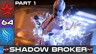 Mass Effect 2: Lair of the Shadow Broker DLC - Part 1 - Paragon Story Walkthrough #64