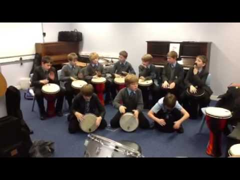 Newcastle School For Boys African Drumming
