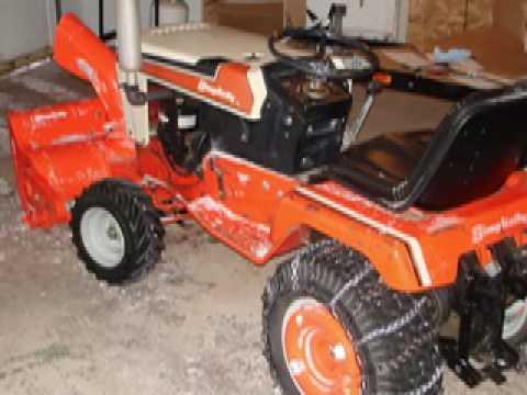 Simplicity 7114 Garden Tractor
