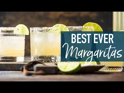BEST Margarita Recipe (Perfect Pitcher Margaritas