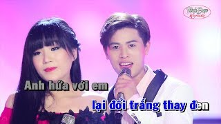 LK Thề Non Hẹn Biển - Karaoke - Nguyễn Thành Viên Ft Hoàng Linh