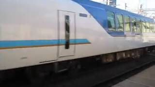 2018 08 近鉄・名古屋線 米野駅・50000系 しまかぜ