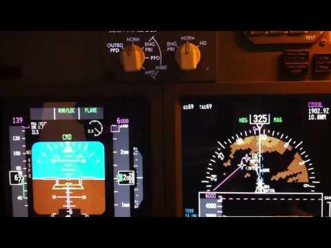 RYANAIR PMDG 737NGX PROSIM VSD AND TERRAIN LANDING IN MADRID BARAJAS AIRPORT