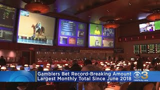 Gamblers Bet Recording-Breaking Amount On Sports In New Jersey