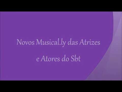 Download NOVOS MUSICAL.LY DAS ATRIZES E ATORES DO SBT | Musical Lys Brasil