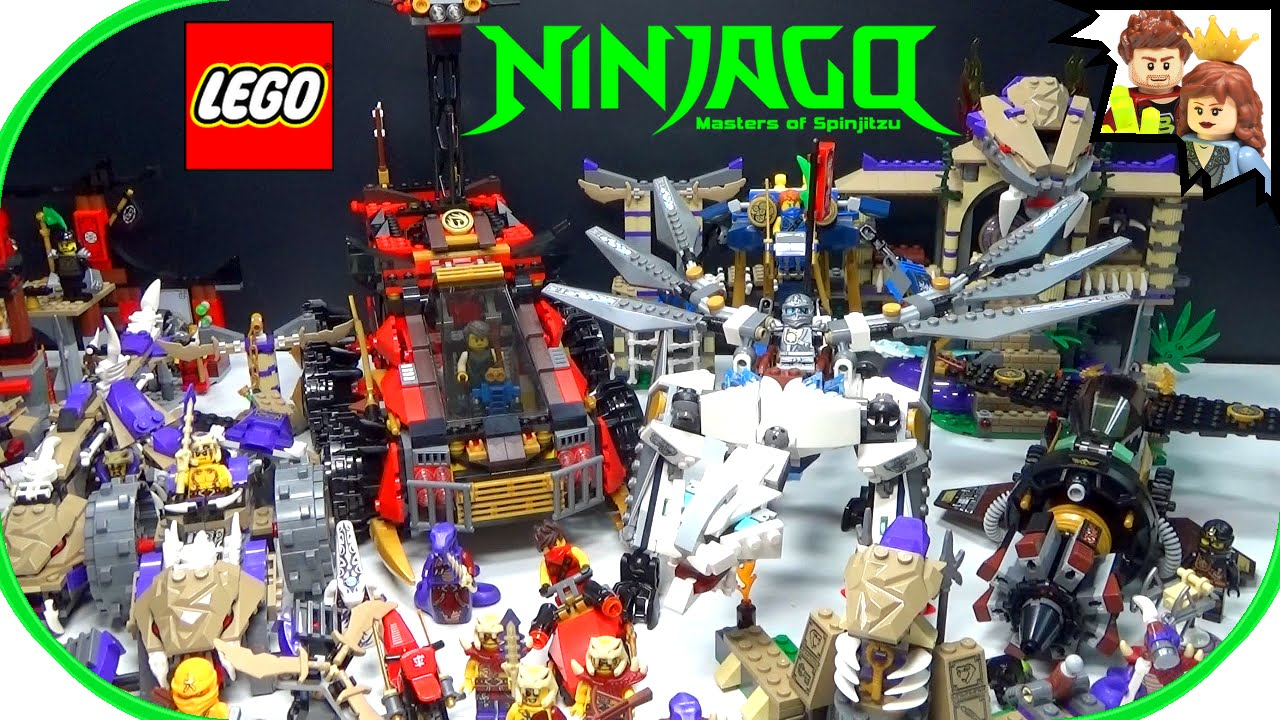 LEGO Ninjago 2015 Set Collection - YouTube