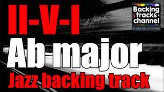 Jazz backing-track - 2-5-1 Ab major