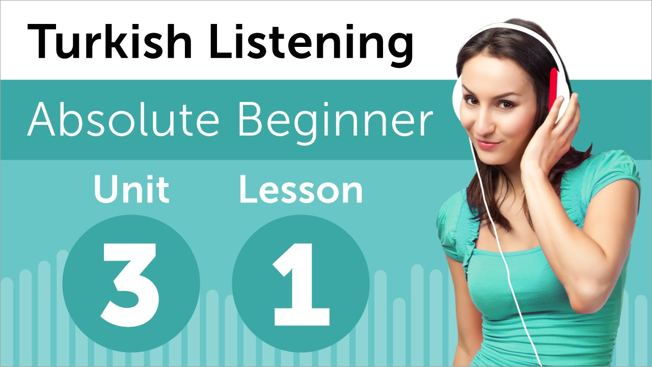 Turkish Listening Practice - Getting Help from the Teacher in Turkey