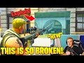 Tfue Randomly Discovers Heavy Sniper Exploit! (See Through Walls) - Fortnite Funny and WTF Moments