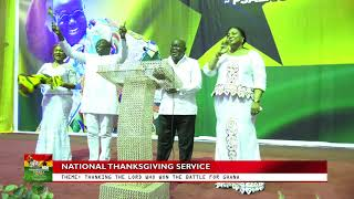 National Thanksgiving Service - One Year On
