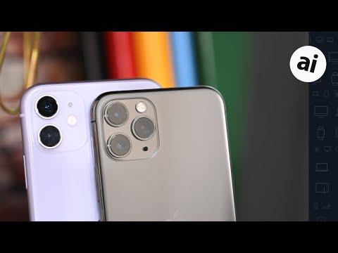 Camera Comparison: iPhone 11 VS iPhone 11 Pro!