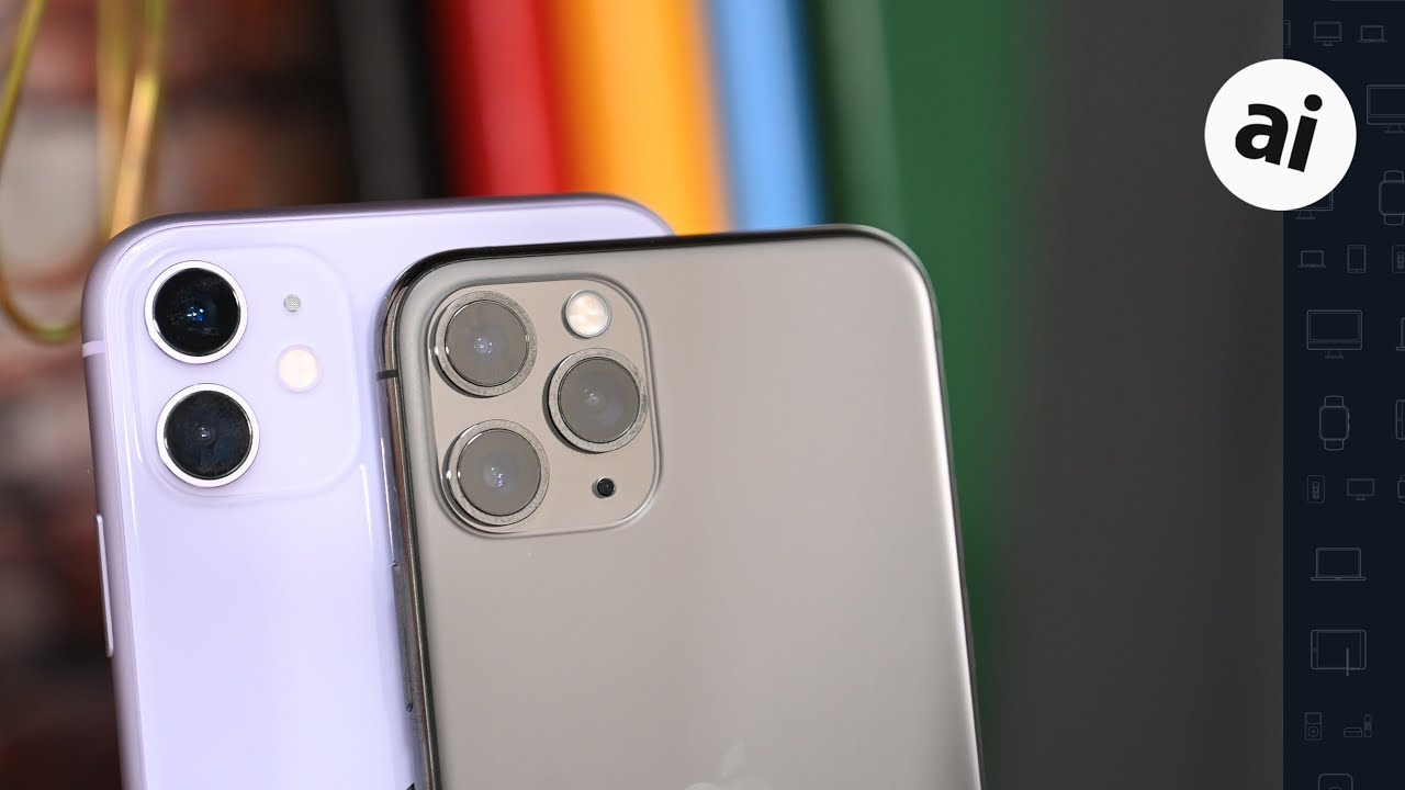 Camera Comparison: iPhone 11 VS iPhone 11 Pro!