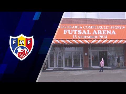 Futsal Arena FMF inaugurare 15.11.2014