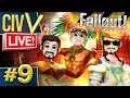 Civ 5 Fallout Live #9 - Cult Of The Cat