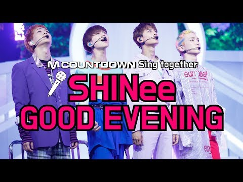 [MCD Sing Together] SHINee -Good Evening Karaoke ver.