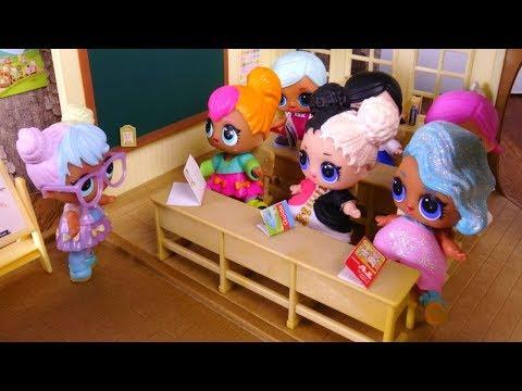LOL SURPRISE DOLLS Go To School! School Day Lol Dolls, Learning About Stars