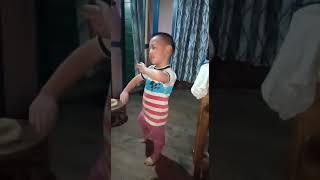 3 years old kid abo ghandi performing katak style dance