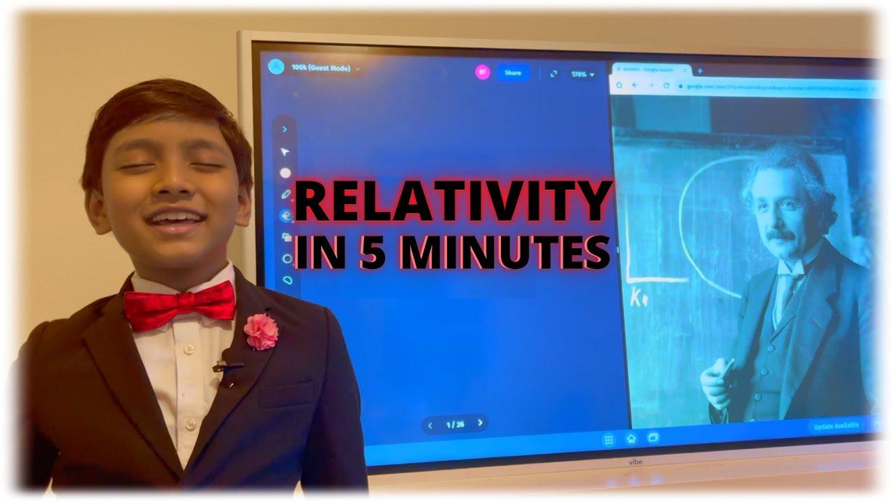 Relativity in 5 minutes | Prof. Soborno Isaac Bari