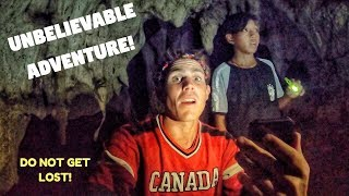 Canadians Get LOST In The PHILIPPINES | Mysterious Island Cave | FIGHTER BOYS