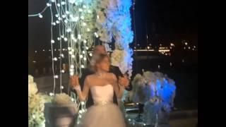Салют на свадьбе Хилькевич