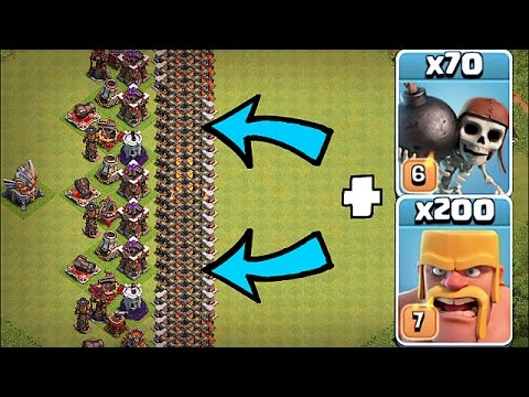 Thumbnail: IMPOSSIBLE WALL BASE!!🔸THE GREAT WALL!!!🔸Clash Of Clans